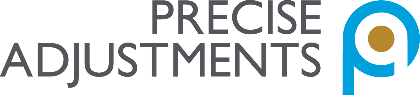 Precise Adjustments logo.