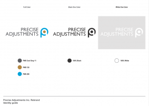 Precise Adjustments Style Guide.