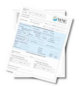 WNC Flood Insurance Application.